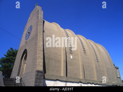 Our Lady Star of the Sea Roman Catholic Church Amlwch Anglesey North Wales UK - Stock Photo