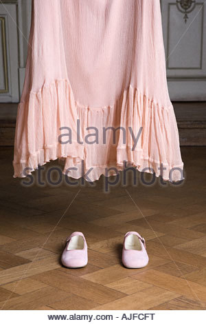 Dress and shoes - Stock Photo