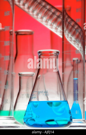 Chemical Glassware Pictorial - Stock Photo