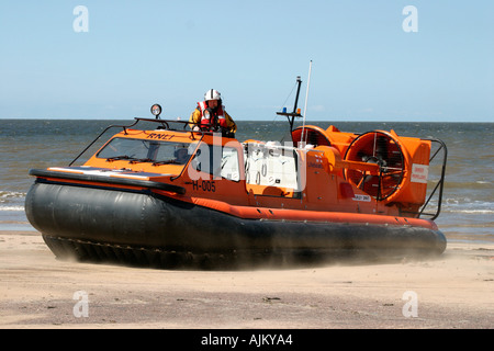 New Brighton Lifeboat Hovercraft - Stock Photo