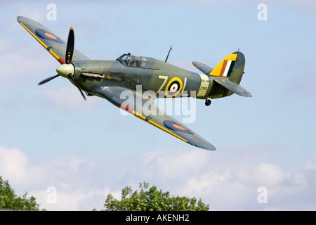 A 1941 Royal Navy Hawker Sea Hurricane - Stock Photo