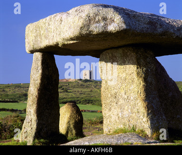 GB - CORNWALL: Lanyon Quoit near Penwith - Stock Photo