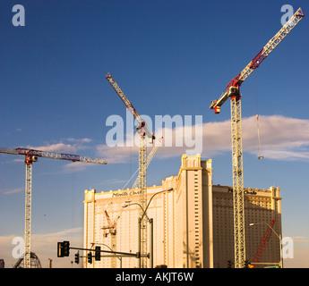 building expansion in Las Vegas - Stock Photo
