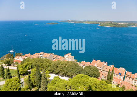 Look about a part of Rovinj, Istria, Croatia - Stock Photo