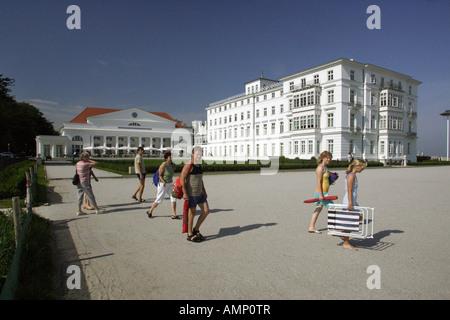 The Kempinski Grand Hotel in Heiligendamm, Germany - Stock Photo
