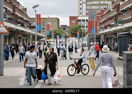 watney street market in Shadwell, London - Stock Photo