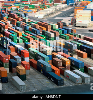 Container harbour - Stock Photo