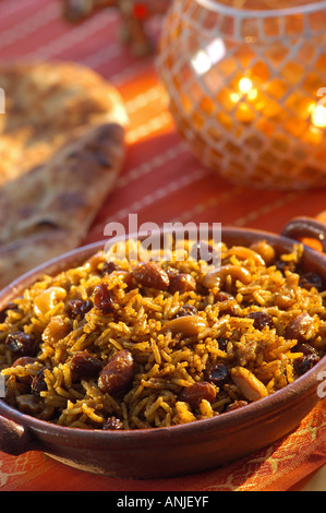 Raisin Biryani - Stock Photo