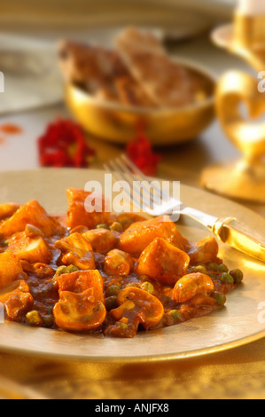 vegetable rogan josh - Stock Photo