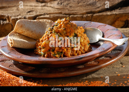 vindaloo malka dahl - Stock Photo