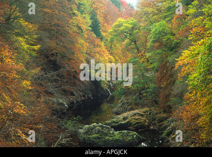 River Garry , Perthshire , Scotland - Stock Photo