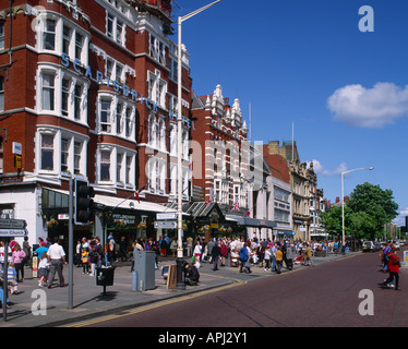 'Lord Street' Southport Merseyside England - Stock Photo