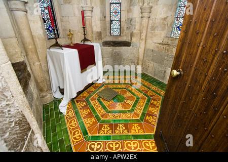 King's prayer room tower of London London UK - Stock Photo