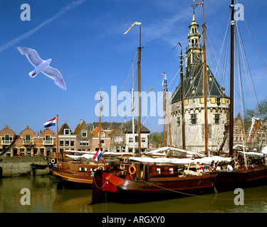 NL - NOORD HOLLAND: Hoorn Harbour - Stock Photo