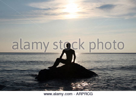 spa, ibiza, summer. chill out, beach, sea, water, sand, relax, water, legs, headstands, sun, sunset, vacation, holidays, - Stock Photo
