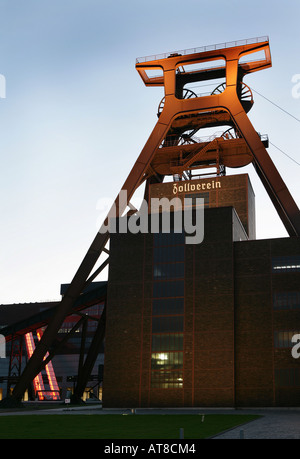 DEU, Germany, Essen : Unesco World heritage site, former coal mine, Zeche Zollverein. - Stock Photo