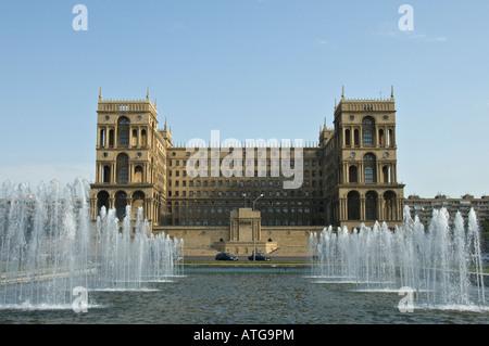 Government House in Baku, Azerbaijan - Stock Photo