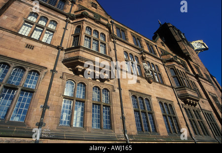Front facade of the council house in coventry warwickshire England UK GB EU Europe - Stock Photo
