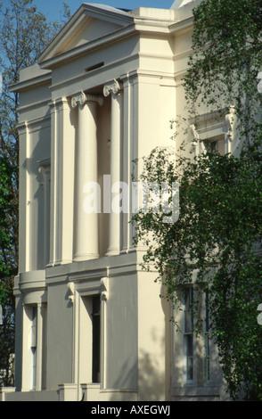Cumberland Terrace, Regents Park, London. (1826 - 27) - Stock Photo