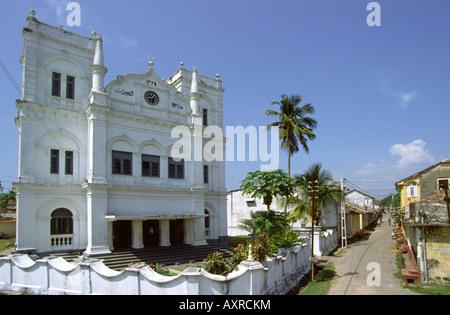Sri Lanka Galle Fort Leyn Barn Street Mosque - Stock Photo