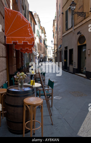 rapallo, bar - Stock Photo