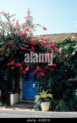 Cottage in Algarve Portugal near Silves - Stock Photo