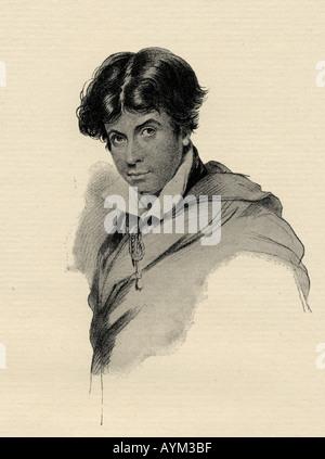 James Henry Leigh Hunt, 1784 - 1859.  British poet, essayist and editor. - Stock Photo