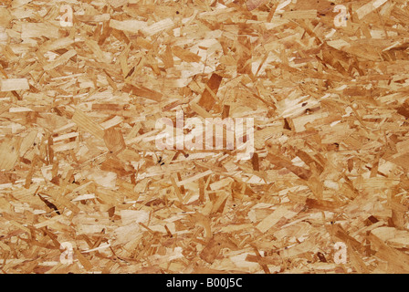 Close up of chipboard. Suitable for use as background image - Stock Photo