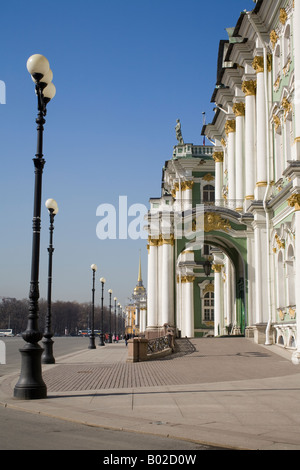 The State Hermitage Museum.Saint Petersburg, Russia. - Stock Photo