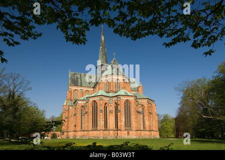 Bad Doberaner Münster Kirche Zisterzienserkloster Cistercian monastery germany - Stock Photo