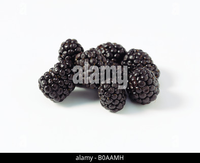 Fresh blackberries, close-up - Stock Photo