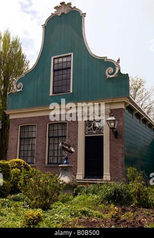 Traditional house, Zaanse Schans Holland - Stock Photo