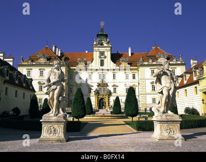 Valtice Castle Czech Republic - Stock Photo