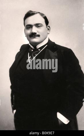 Enrico Caruso (1873-1921), Italian tenor, 1907.Artist: Rotary Photo - Stock Photo