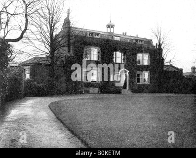 Gadshill, Near Rochester, Purchased by Dickens in 1856, (1923).Artist: Rischgitz Collection - Stock Photo