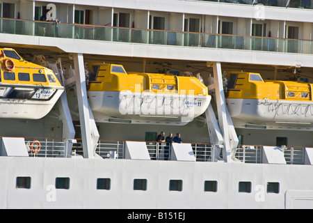 Lifeboat - Aida Diva - Stock Photo