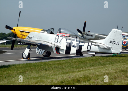 North American P-51 D Mustang 'Ferocious Frankie' - Stock Photo