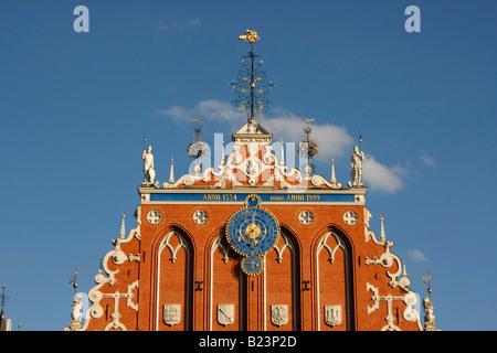 Blackheads House in Riga Latvia Baltic States - Stock Photo