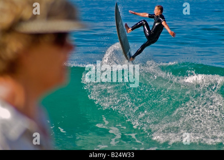laguna beach ca california surfing, surf, surfer, sport, sports, surfers, pacific ocean, wave, water, waves  secluded - Stock Photo
