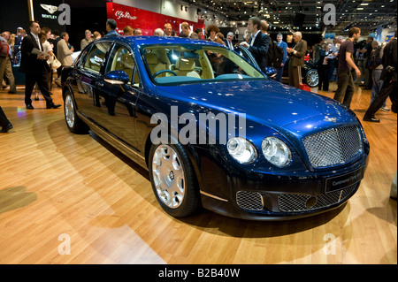 Bentley Continental Flying Spur at the 2008 British International Motorshow at Excel Docklands London - Stock Photo
