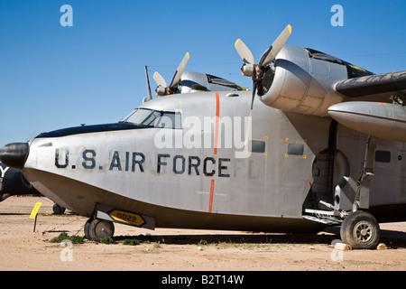Grumman HU-16A Albatross Pima Air and Space Museum Tucson Arizona, USA - Stock Photo
