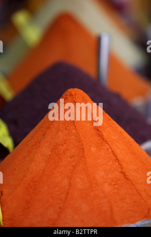TUR Turkey Istanbul Spice Basar spice souk - Stock Photo