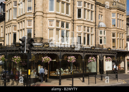 Betty's famous cafe and traditional tearooms in town centre. Harrogate North Yorkshire England UK - Stock Photo