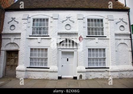 The Old Dutch House in Sandwich Kent - Stock Photo