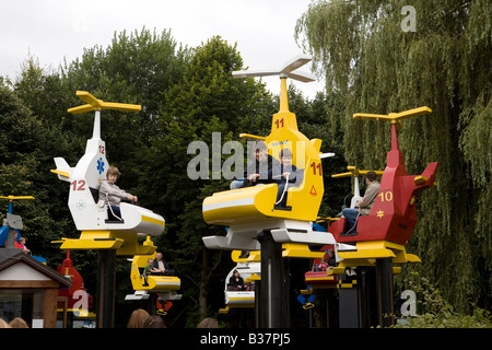 Pic Shows a ride at Legoland - Stock Photo