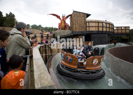 Pic Shows a ride at Legoland, Windsor - Stock Photo