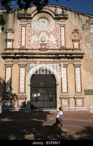 Convento de los Dominicos in the Zona Colonial of Santo Domingo, Dominican Republic - Stock Photo