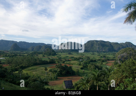 View of Valley in Vinales - Stock Photo