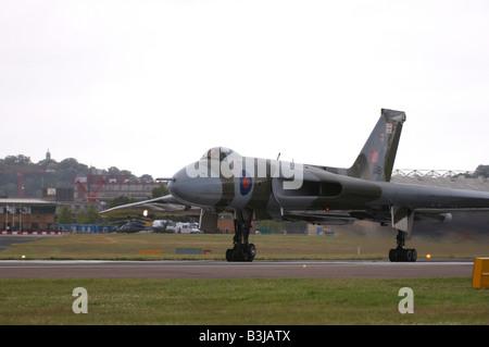 Avro Vulcan Farnborough Air Show 2008 - Stock Photo