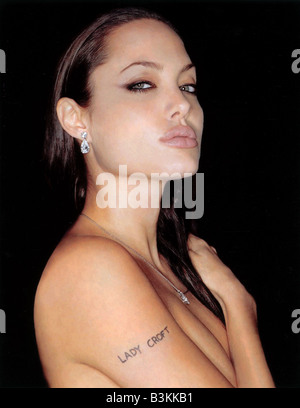 LARA CROFT : TOMB RAIDER  2001 Paramount film with Angelina Jolie - Stock Photo